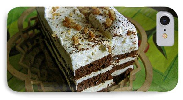 Zebra Cake Phone Case by Ausra Huntington nee Paulauskaite