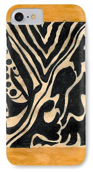 Zebra Phone Case by Carla Sa Fernandes