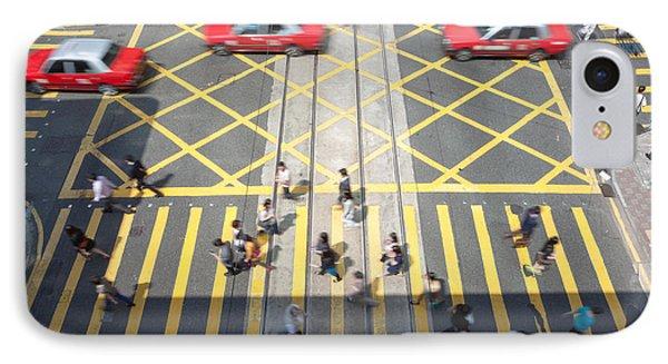 Zebra Crossing - Hong Kong IPhone Case