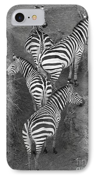 Zebra Design IPhone 7 Case by Carol Walker