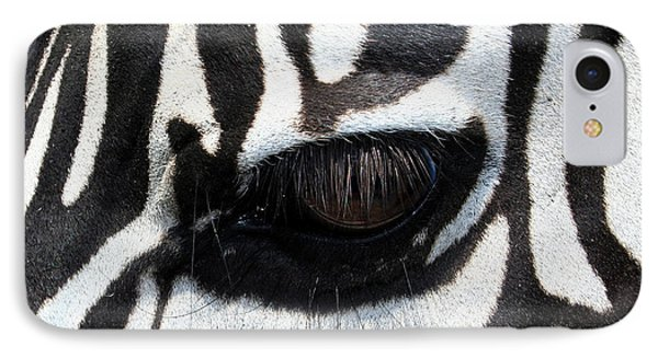 Zebra Eye IPhone 7 Case
