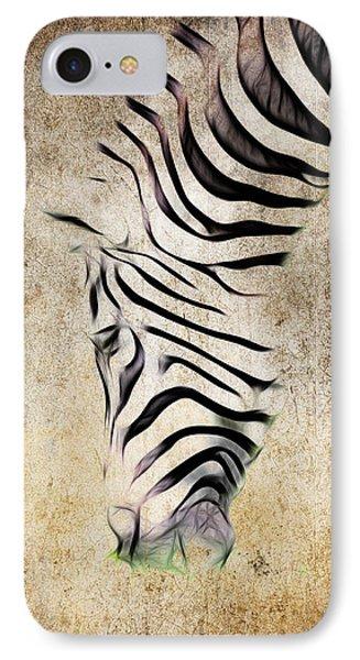 Zebra Fade IPhone Case by Steve McKinzie
