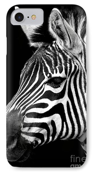 Zebra IPhone Case by Gunnar Orn Arnason