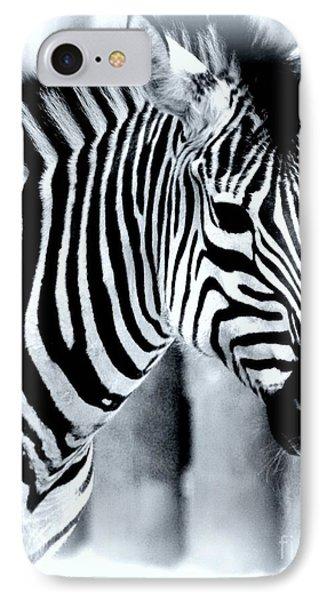 Zebra Phone Case by Kathleen Struckle