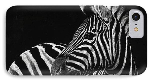 Zebra No. 3 Phone Case by Sheryl Unwin