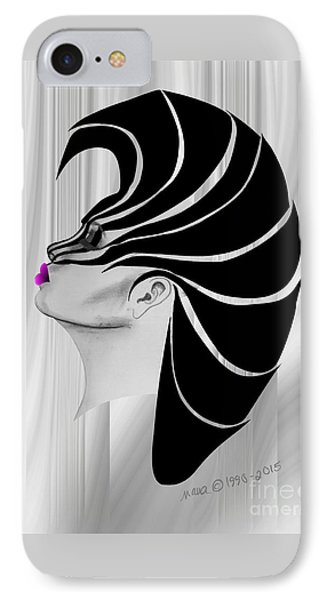 Zebra Punk IPhone Case