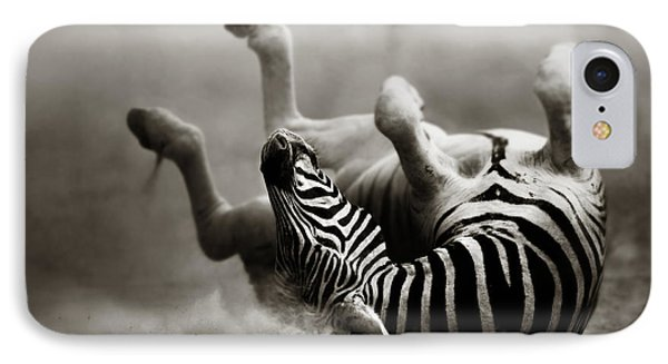 Zebra Rolling IPhone Case