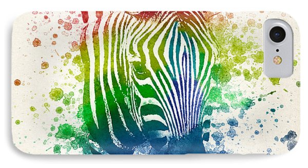 Zebra Splash IPhone Case