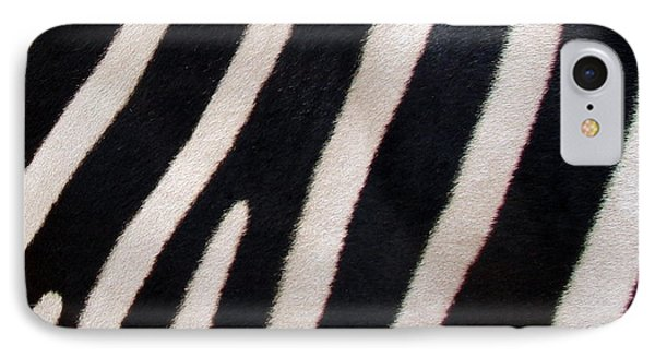 IPhone Case featuring the photograph Zebra Stripes by Ramona Johnston