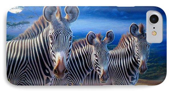 Zebras IPhone Case by Hans Droog