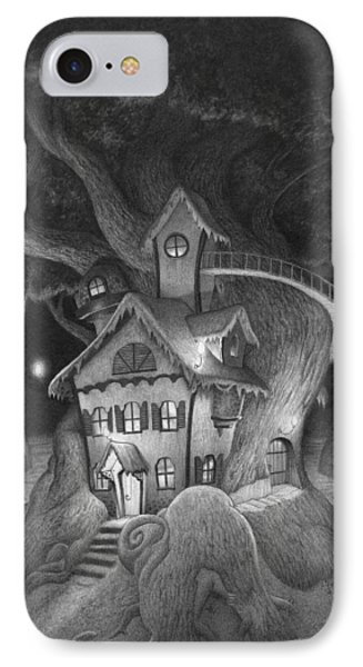 Zelma's House IPhone Case by Richard Moore