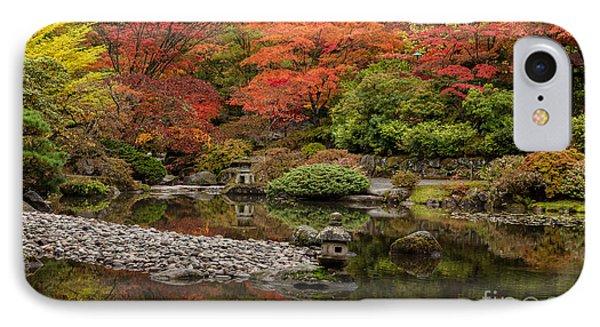 Zen Foliage Colors Phone Case by Mike Reid