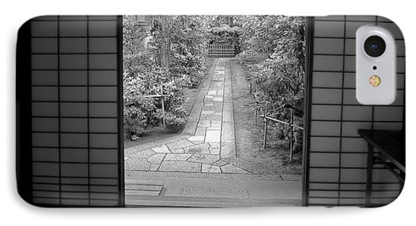Zen Garden Walkway IPhone Case by Daniel Hagerman