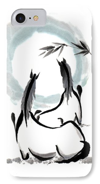 Zen Horses Into The Vortex IPhone Case