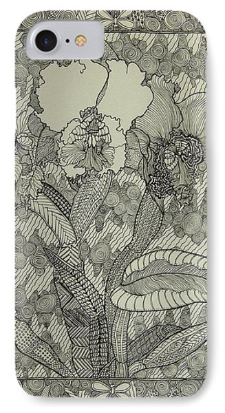 Zen Orchids IPhone Case by Terry Holliday