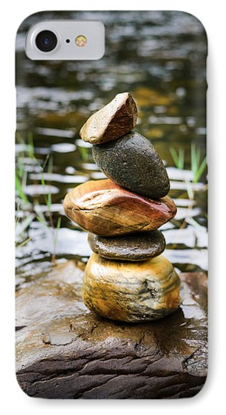 Zen River I IPhone Case by Marco Oliveira
