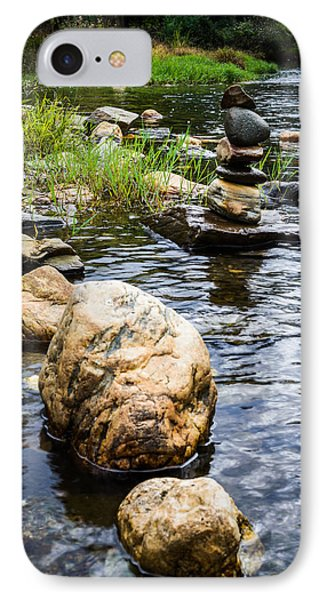 Zen River V IPhone Case by Marco Oliveira