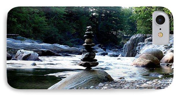 Zen Rock Tower IPhone Case