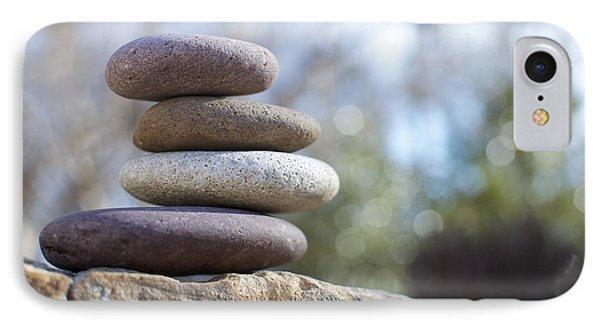 Zen Stones Phone Case by Ben ONeal