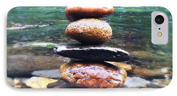 Zen Stones II IPhone Case by Marco Oliveira