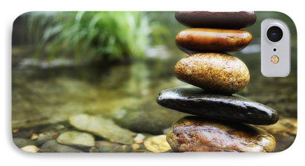 Zen Stones IPhone Case by Marco Oliveira
