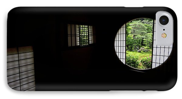 Zen Temple Tea House Interior - Kyoto Japan IPhone Case