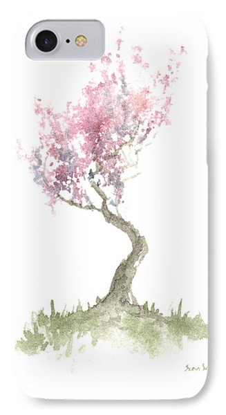 Zen Tree In Spring IPhone Case by Sean Seal