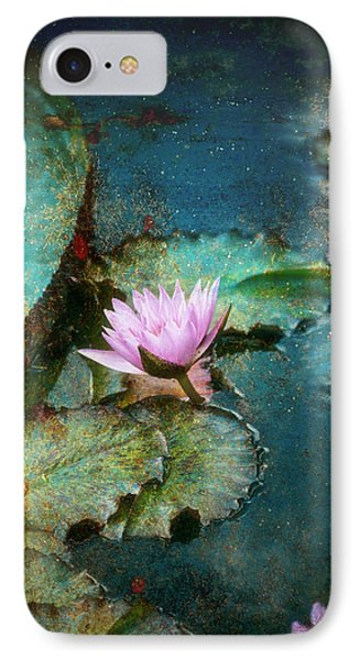 IPhone Case featuring the photograph Zen Water Lily by John Rivera