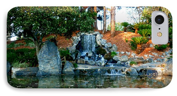 IPhone Case featuring the photograph Zen Waterfall II by Therese Alcorn