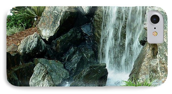IPhone Case featuring the photograph Zen Waterfall by Therese Alcorn