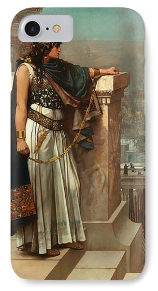 Zenobia's Last Look On Palmyra IPhone Case by Mountain Dreams