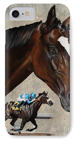 Zenyatta IPhone Case by Pat DeLong