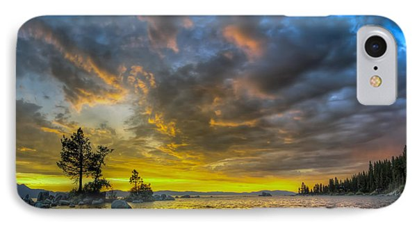 IPhone Case featuring the photograph Zephyr Cove by Sean Foster