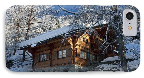 Zermatt Chalet Phone Case by Brian Jannsen