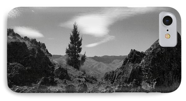 IPhone Case featuring the photograph Zig Zag Sky by Tarey Potter