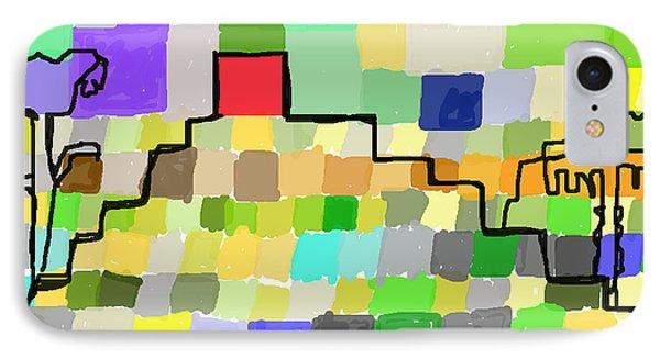 Ziggurat IPhone Case by Paul Sutcliffe