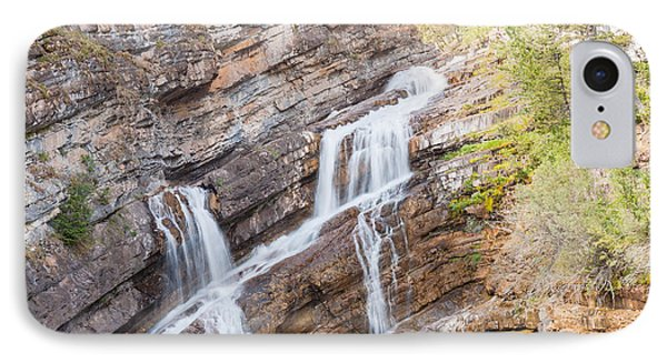 IPhone Case featuring the photograph Zigzag Waterfall by John M Bailey