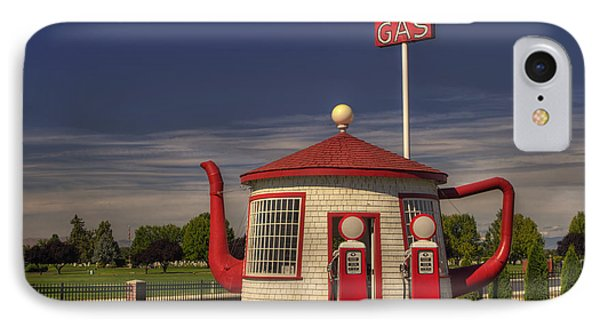 Zillah Teapot Dome Service Station IPhone Case by Mark Kiver