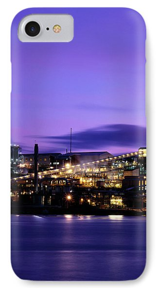 Technological iPhone 7 Case - Zinc Smelter by Alex Bartel/science Photo Library