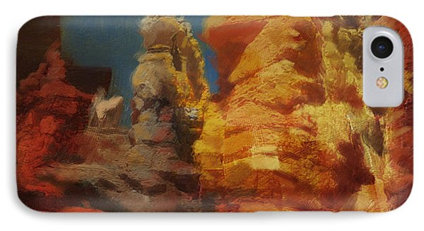 Zion Canyon IPhone Case by Corporate Art Task Force
