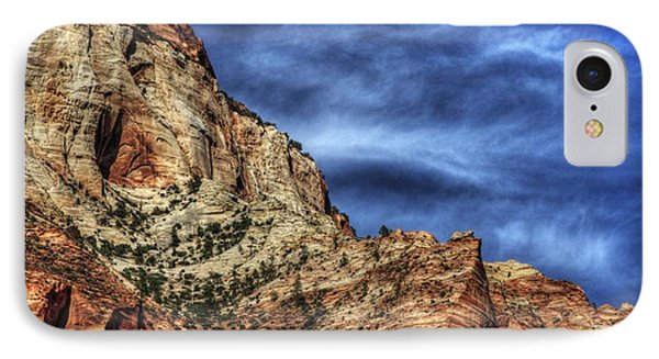 Zion Face 695 IPhone Case by Jerry Sodorff