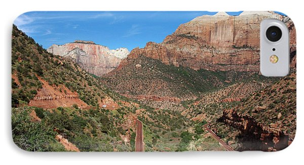 206p Zion National Park IPhone Case by NightVisions