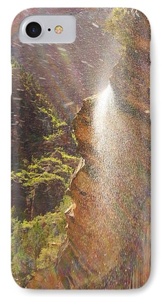 Zion National Park IPhone Case by Suzanne Lorenz