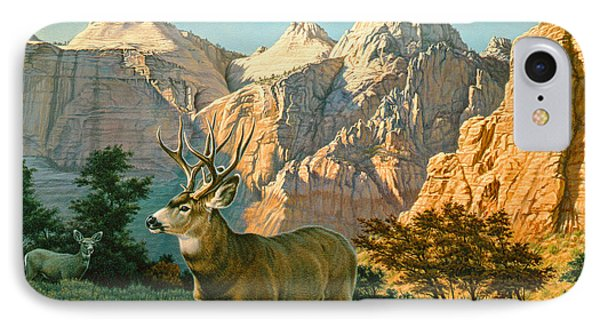 Zioncountry Muleys Phone Case by Paul Krapf