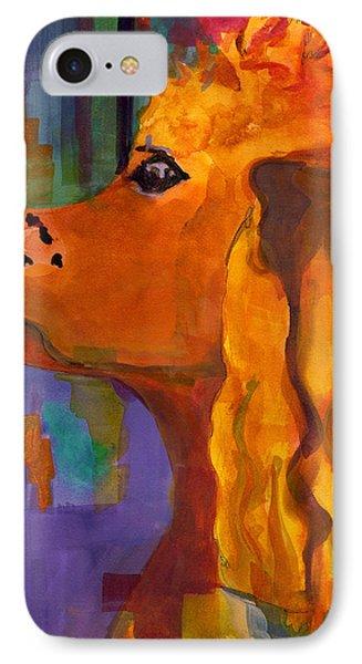 Zippy Dog Art Phone Case by Blenda Studio