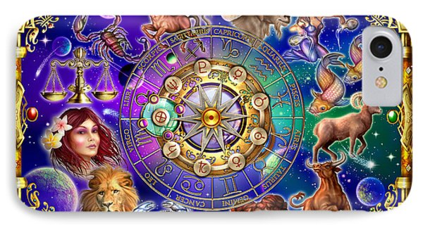 Zodiac 2 IPhone Case by Ciro Marchetti
