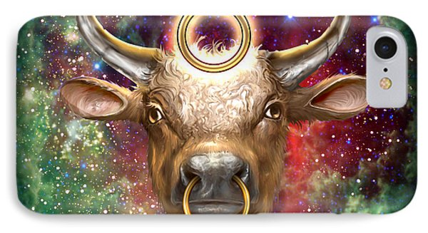 Zodiac Tauro IPhone Case by Ciro Marchetti