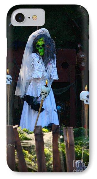 Zombie Bride Phone Case by Patrick Witz