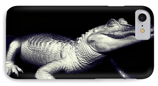 IPhone Case featuring the photograph Zombie Gator by Jeremy Martinson