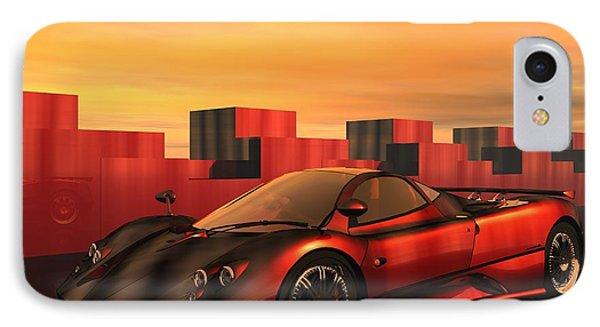 IPhone Case featuring the digital art Zonda F by John Pangia